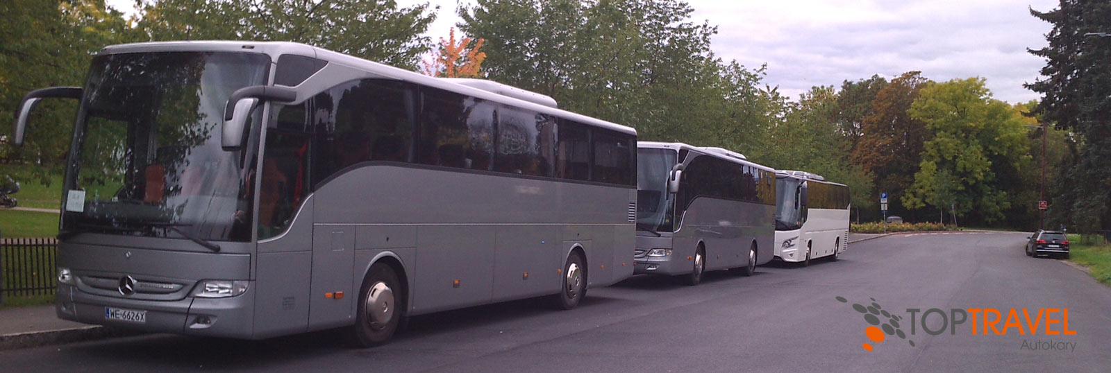 TOP TARVEL 2 Mercedesy i VDL Autokary Warszawa