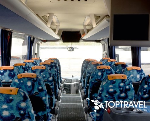 Wynajem Autokarów Warszawa Polska TOP TRAVEL MAN Multimedia