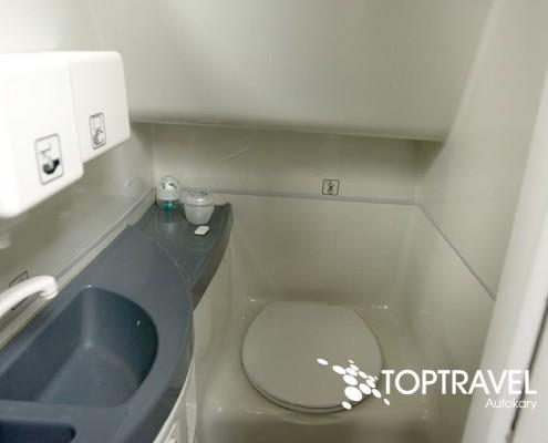 Wynajem Autokarów Warszawa Polska TOP TRAVEL MAN WC / toaleta