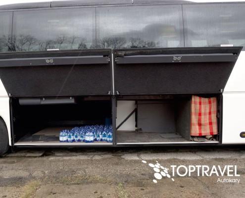 Wynajem luksusowych autokarów VDL New Futura - TOP TRAVEL -bagażnik 2