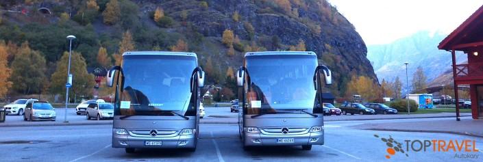 Luksusowe autokary Mercedes TOP TRAVEL Warszawa