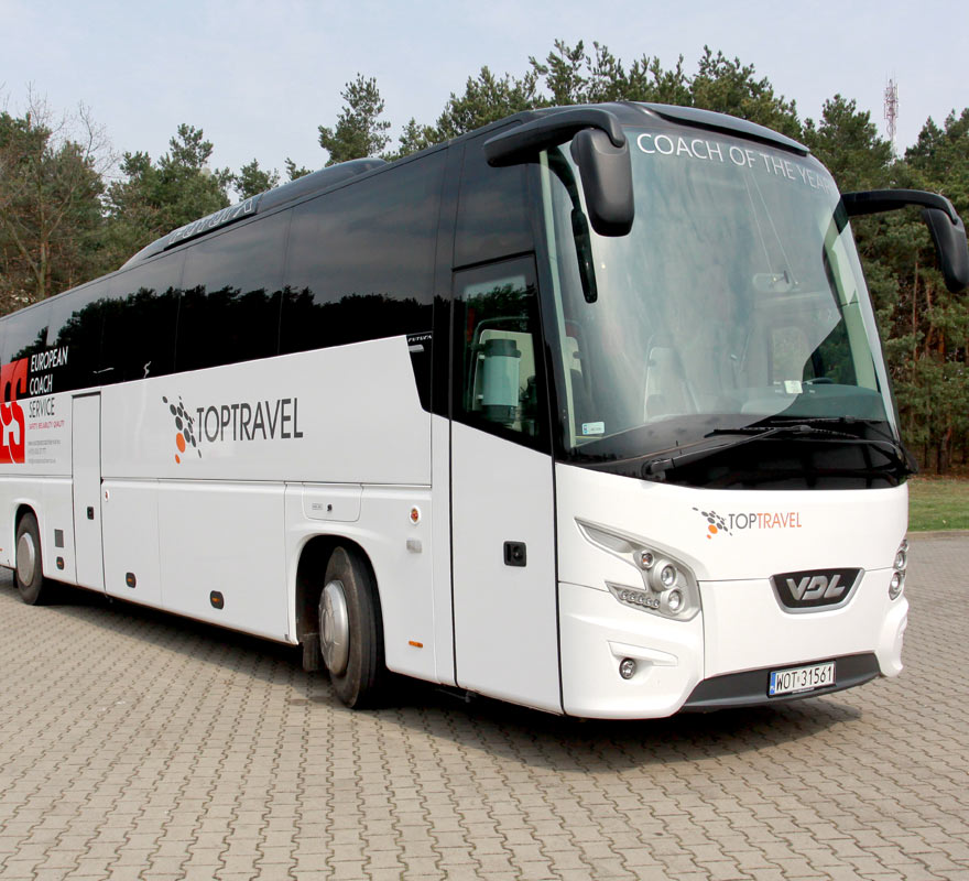 TOP TRAVEL Autokary Warszawa