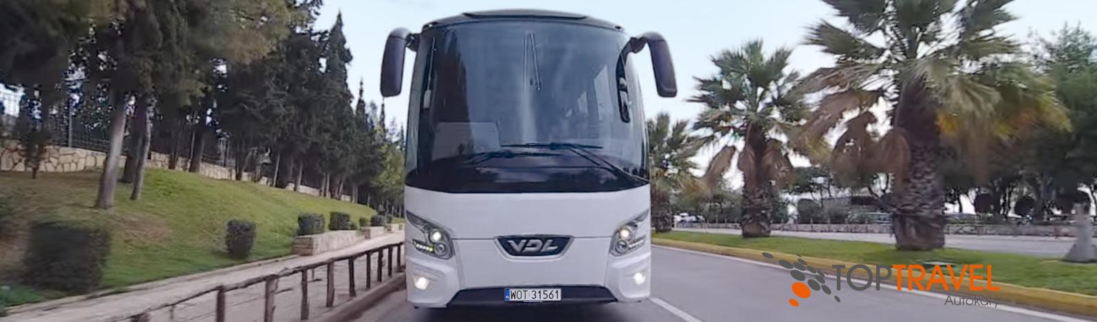 wynajem luksusowych autokarow Warszawa TOP TRAVEL